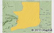 Savanna Style Panoramic Map of Ogou