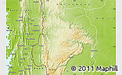 Physical Map of Wawa