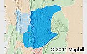 Political Map of Wawa, lighten
