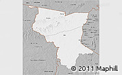 Gray 3D Map of Savanes