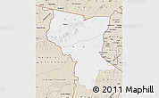 Classic Style Map of Savanes