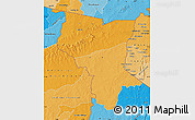 Political Shades Map of Savanes