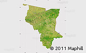 Satellite Map of Savanes, cropped outside