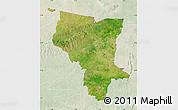 Satellite Map of Savanes, lighten