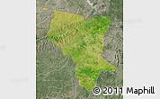 Satellite Map of Savanes, semi-desaturated