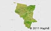 Satellite Map of Savanes, single color outside