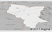 Gray Panoramic Map of Savanes