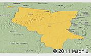 Savanna Style Panoramic Map of Savanes