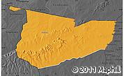 Political Map of Tone, darken, desaturated