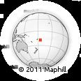 Outline Map of Tonga