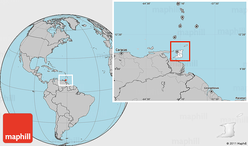 28 Where Is Trinidad And Tobago Located On The World Map