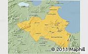 Savanna Style 3D Map of Region 1