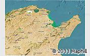 Satellite 3D Map of Region 2