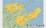 Savanna Style 3D Map of Region 2
