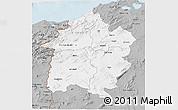 Gray 3D Map of Region 3