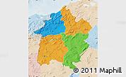 Political Map of Region 3, lighten