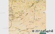 Satellite 3D Map of Region 4