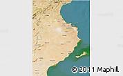 Satellite 3D Map of Region 5