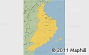 Savanna Style 3D Map of Region 5