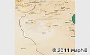 Satellite 3D Map of Region 6