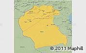 Savanna Style 3D Map of Region 6