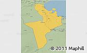 Savanna Style 3D Map of Region 7