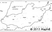 Blank Simple Map of Adiyaman