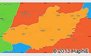 Political Simple Map of Adiyaman
