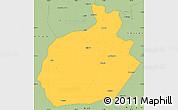 Savanna Style Simple Map of Aksaray