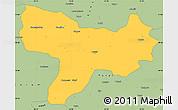 Savanna Style Simple Map of Amasya