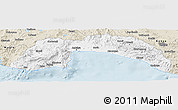 Classic Style Panoramic Map of Antalya