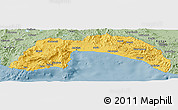 Savanna Style Panoramic Map of Antalya