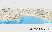Shaded Relief Panoramic Map of Antalya