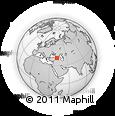 Outline Map of Artvin