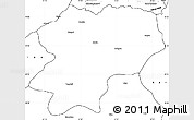 Blank Simple Map of Artvin