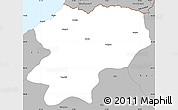 Gray Simple Map of Artvin