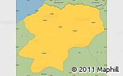 Savanna Style Simple Map of Artvin