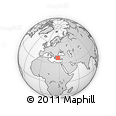 Outline Map of Aydin