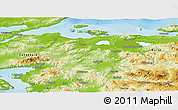 Physical Panoramic Map of Balikesir