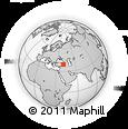 Outline Map of Bingol
