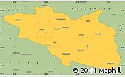 Savanna Style Simple Map of Cankiri