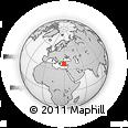 Outline Map of Denizli