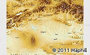 Physical Map of Diyarbakir