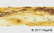 Physical Panoramic Map of Diyarbakir