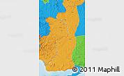 Political Map of Edirne
