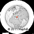 Outline Map of Edirne