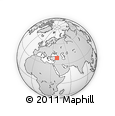 Outline Map of Erzincan