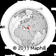 Outline Map of Eskisehir