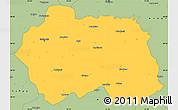 Savanna Style Simple Map of Eskisehir