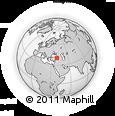 Outline Map of Gumushane